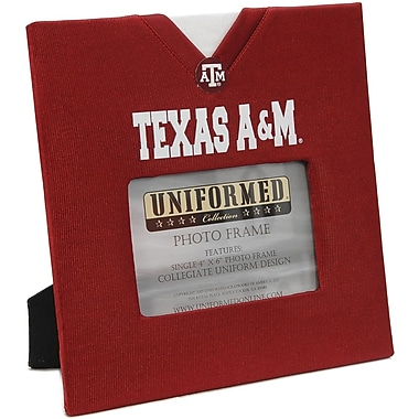 Uniformed Scrapbooks Collegiate Frame 10in. x 10in., Photo Window 6in. x 4in., Texas A&M