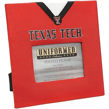 Uniformed Scrapbooks Collegiate Frame 10in. x 10in., Photo Window 6in. x 4in., Texas Tech University