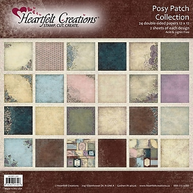 Heartfelt Creations Double-Sided Paper Collection, 12in. x 12in., Posy Patch