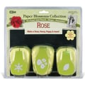 Mc Gill Paper Blossoms Punch Set, Rose