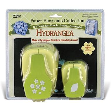 Mc Gill Paper Blossoms Punch Set, Hydrangea
