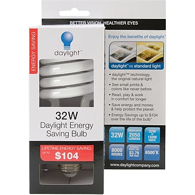Daylight Energy Saving Bulb, 32 Watt