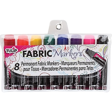 I Love To Create Tulip Mini Fat Fabric Marker, Assorted
