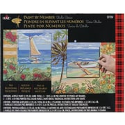 Plaid Craft Paint By Number Studio Set, 11 x 14, Plantation Key