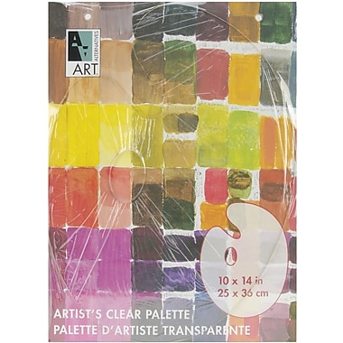 Art Alternatives Palette, 10in. x 14in., Clear Oval