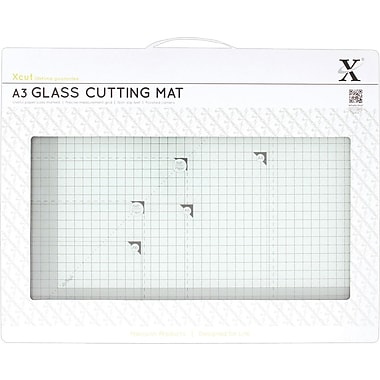 Docrafts Tempered Glass Cutting Mat A3, 16.5in. x 11.7in.