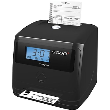 Pyramid Auto-Totaling Time Clock (5000+)