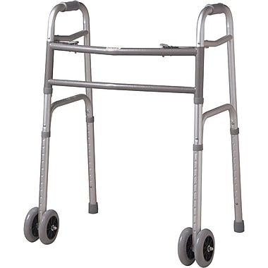 Guardian® Folding Walker, Bariatric, 33.5in.-43.5in. H, Each