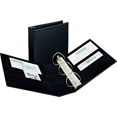 4in. Avery® Durable Binder with EZD Rings, Black