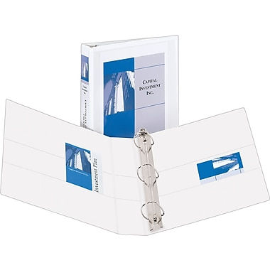 1-1/2in. Avery® Durable View Binder with EZD Rings, White