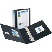 2 Avery® Durable View Binder with EZD Rings, Black