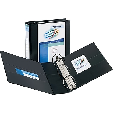 3in. Avery® Durable View Binder with EZD Rings, Black