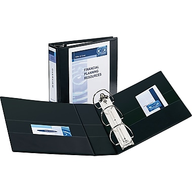 4in. Avery® Durable View Binder with EZD Rings, Black