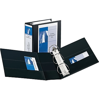 5in. Avery® Durable View Binder with EZD Rings, Black