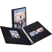 "1/2"" Avery® Durable View Binder with Slant-D Rings, Black"