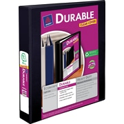 1-1/2 Avery® Durable View Binder with Slant-D Rings, Black