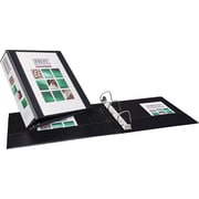 2 Avery® Durable View Binder with Slant-D Rings, Black