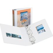 2 Avery® Durable View Binder with Slant-D™ Rings, White