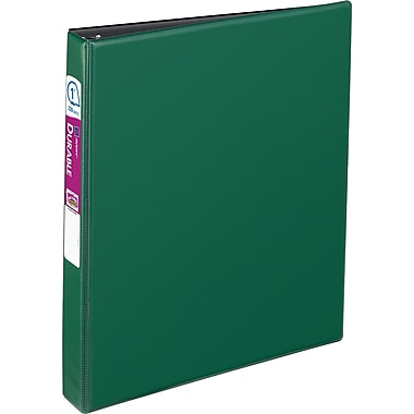 1in. Avery® Durable Binder with Slant-D™ Rings, Green