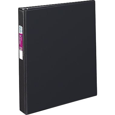 1in. Avery® Durable Binder with Label Holder and Slant-D Rings, Black