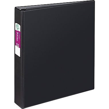 1-1/2in. Avery® Durable Binder with Label Holder and Slant-D Rings, Black
