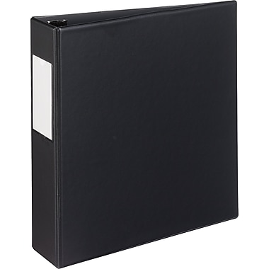 2in. Avery® Durable Binder with Label Holder and Slant-D™ Rings, Black