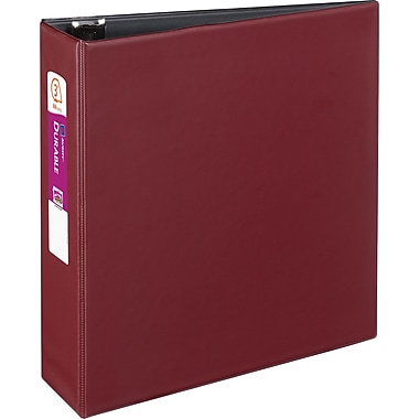 3in. Avery® Durable Binder with Slant-D™ Rings, Burgundy
