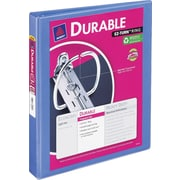 "1"" Avery® Durable View Binder with Slant-D Rings, Periwinkle"