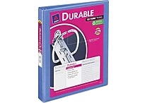 1' Avery® Durable View Binder with Slant-D Rings, Periwinkle