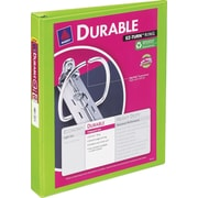 "1"" Avery® Durable View Binder with Slant-D Rings, Bright Green"