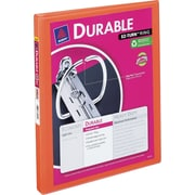 1/2 Avery® Bright-Orange Durable View Binder with Slant-D Rings