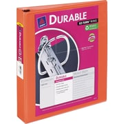 1-1/2 Avery® Durable View Binder with Slant-D Rings, Bright Orange