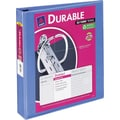 1-1/2in. Avery® Durable View Binder with Slant-D Rings, Periwinkle