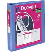 Avery Durable 1.5-Inch Slant D-Ring View Binder, Periwinkle (34159)