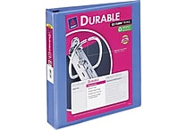 1-1/2' Avery® Durable View Binder with Slant-D Rings, Periwinkle