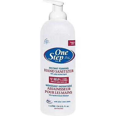 One Step™ Foaming Hand Sanitizer, 1 L