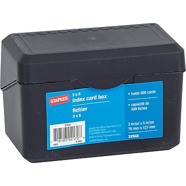 Staples® Card File, 3