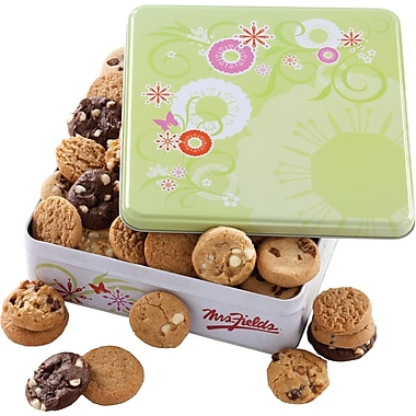 Mrs. Fields Springtime Tin, 60 Nibblers