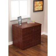 Z-Line Designs 28 1/4 Wood Lateral File Cabinet, 2-Drawer, Cherry