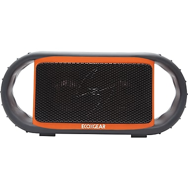 Grace Digital ECOXGEAR - ECOXBT Waterproof and Rugged Bluetooth Speaker and Speakerphone, Orange