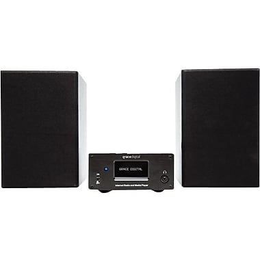 Grace Digital Micro System Wi-Fi Stereo Shelf System