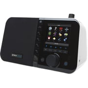 "Grace Digital Mondo 3.5"" Color Display Desktop Internet Radio, White"