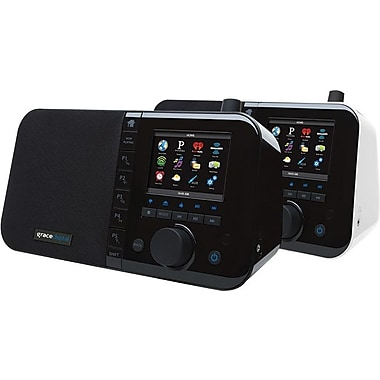 Grace Digital Mondo 3.5in. Color Display Desktop Internet Radio