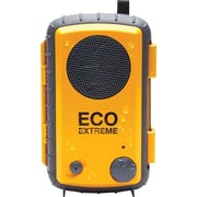 Grace Digital Eco Extreme Rugged All-Terrain Waterproof Speaker Case for MP3 Players and Smartphones, Yellow