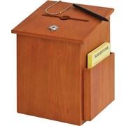 Buddy Products Y562211 Suggestion Box, Medium Oak
