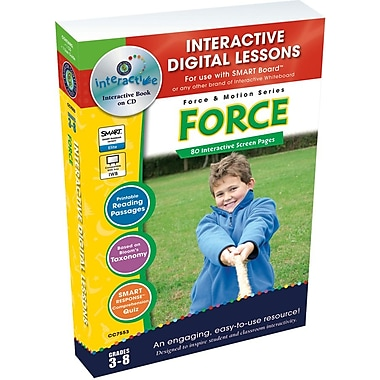 Classroom Complete Press® IWB Force Book, Grades 3rd - 8th