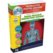 Classroom Complete Press® IWB Senses, Nervous and Respiratory Systems Book, Grades 3rd - 8th