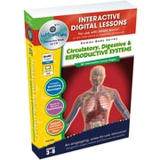 Classroom Complete Press® IWB Circulatory, Digestive and Reproductive Systems Book, Grades 3rd - 8th