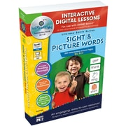 Classroom Complete Press® IWB Sight and Picture Words Big Box Book, Grades Pre Kindergarten - 2nd