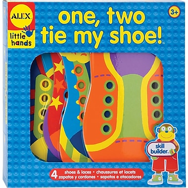 Alex Toys® Lacing One, Two, Tie My Shoe